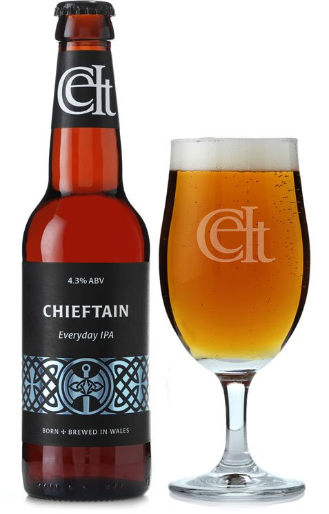 Celt Chieftain Evan Evans Beer