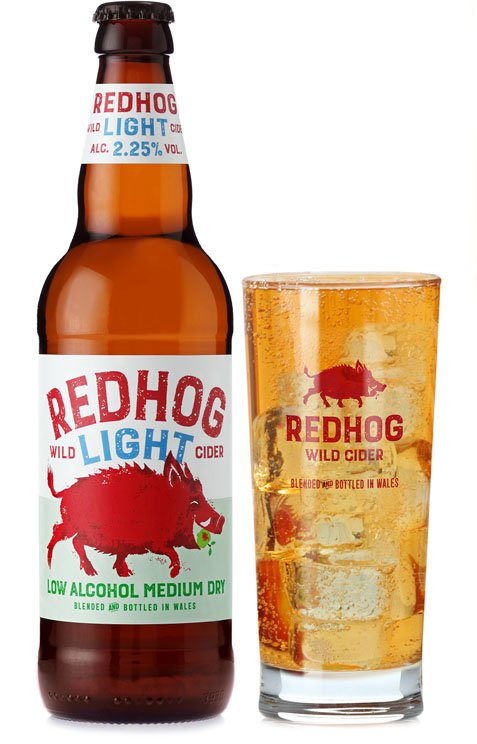 Redhog Light Medium Dry Cider