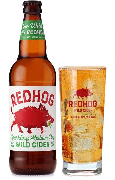 Redhog medium dry cider