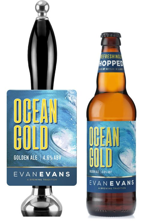 Evan Evans Ocean Gold Beer