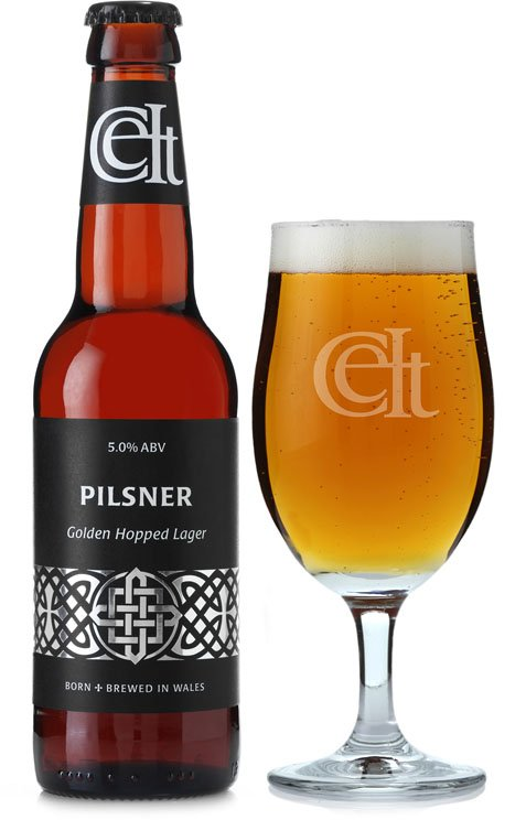 Celtic Pilsner beer