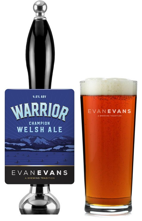 evan evans warrior beer