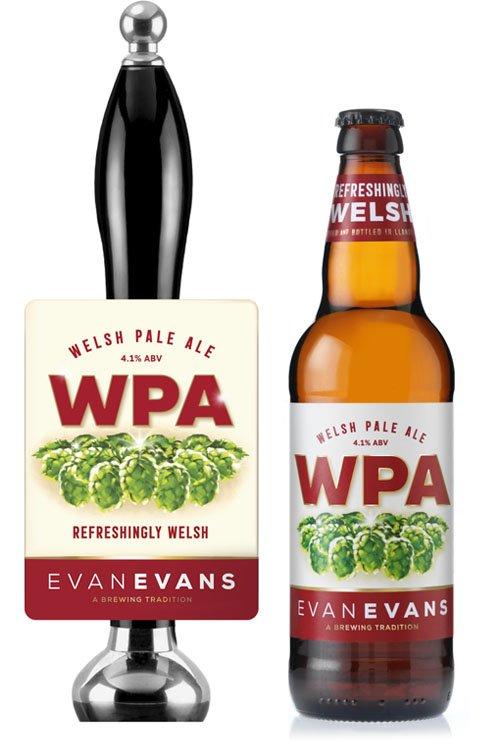 Evan Evans WPA beer