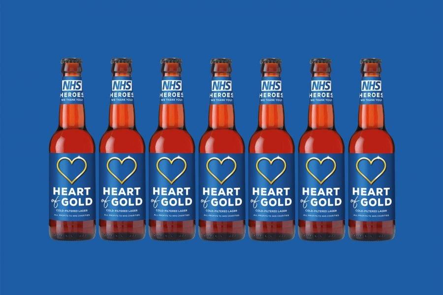 Heart of Gold Evan Evans Beer